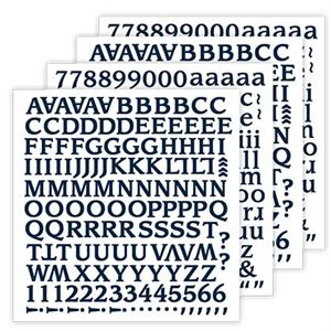 Picture of Clean Slate Blue Navy Alphabet Stickers *SALE* WHILE SUPPLIES LAST
