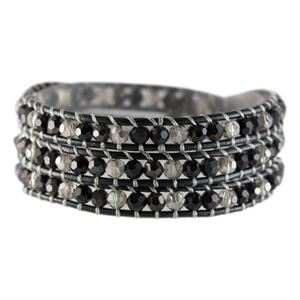 Picture of Black Crystal Beaded Wrap
