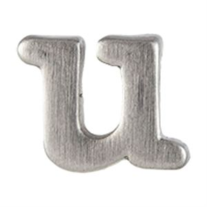 Picture of Silver 'U' Slider Charm