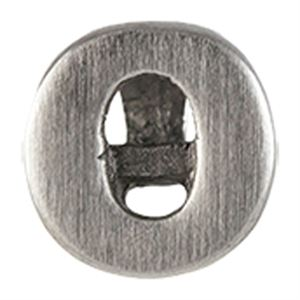 Picture of Silver 'O' Slider Charm