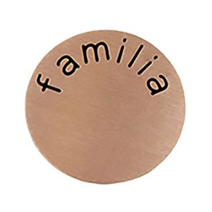 Picture of 'Familia' Medium Rose Gold Coin