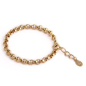 Picture of Nickel-Safe Gold Rolo Bracelet