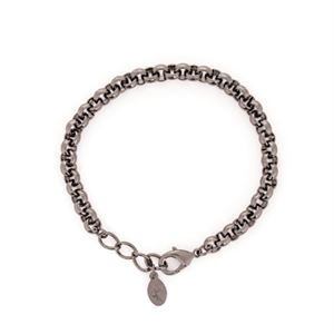 Picture of Nickel-Safe Graphite Rolo Bracelet