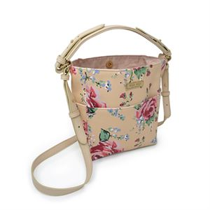 Picture of Ella Antique Floral Mini Bucket Bag